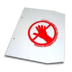Hopper Flap for Garden chipper/shredder 13 /15hp