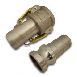 "2"" Male and Female Camlock Fitting Set"