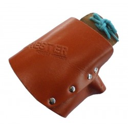 Leather Chainsaw Mitt