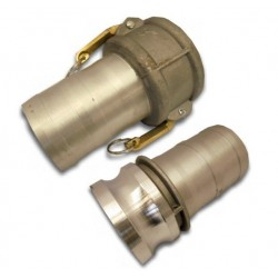 """3"""" Male and Female Camlock Fitting Set"""