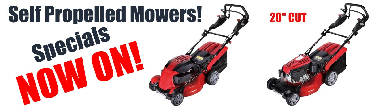 Self Propelled Mowers